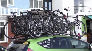 4K Video of Europcar Bikes at Tour De Yorkshire 2015