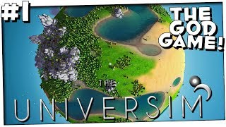 A GOD SIMULATOR *FIRST IMPRESSIONS* | PART 1 | THE UNIVERSIM ALPHA 25 (0.0.25) ALPHA GAMEPLAY