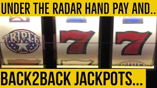 Epic High Limit Triple Stars Back to back spins=back to back hand pays! Journey continues to Haywire