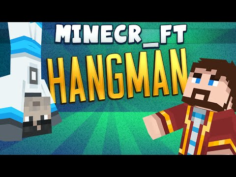 Minecraft Minigames - Hangman #1 - Games With Sips
