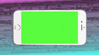 Iphone 6 green screen transition
