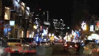 Les rues de Montréal illuminées - Boom Boom (Maryse Letarte)
