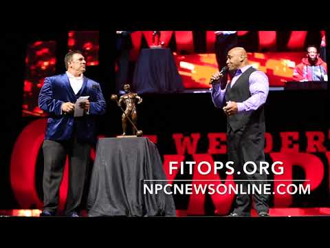 2017 IFBB Olympia Press Conference Part 1