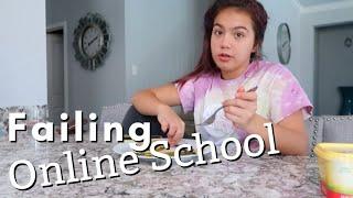 FAILING ONLINE SCHOOL / TELLING MY PARENTS | SISTERFOREVERVLOGS #761