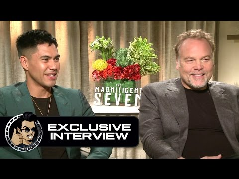 Vincent D'Onofrio & Martin Sensmeier Exclusive THE MAGNIFICENT SEVEN Interview (JoBlo.com)