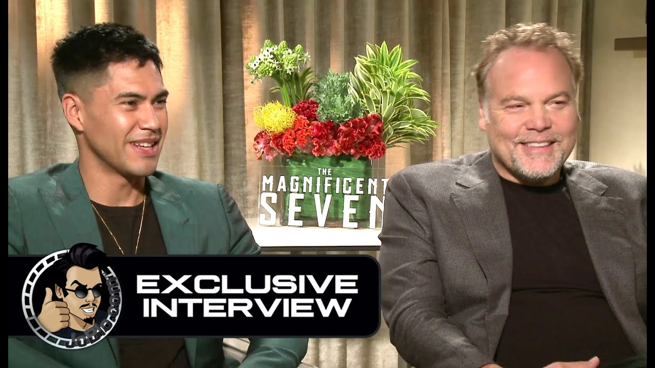 Vincent D'Onofrio & Martin Sensmeier Exclusive THE ...