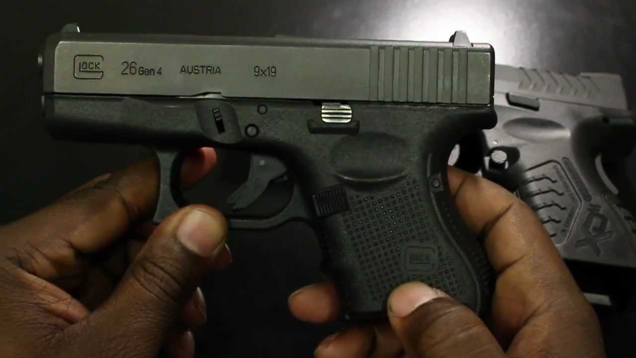 Glock 26 Gen 4 Vs Springfield Armory Xdm Utility Meets Refinement Youtube