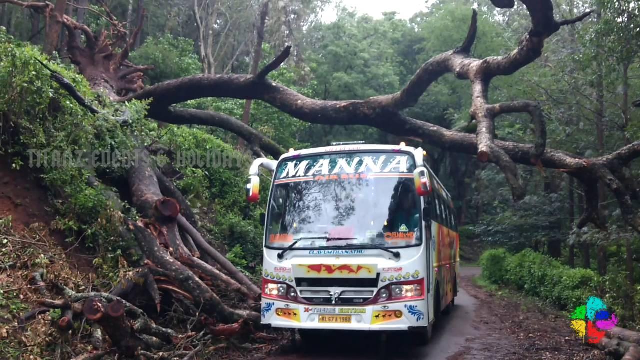 Kerala Tourist Bus Adventure Drive Youtube