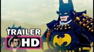 BATMAN NINJA Official Trailer 2 - English Version (2018) DC Superhero Movie HD