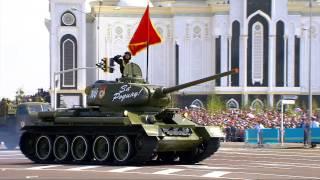 Парад Победы ,7 мая 2015 года , Астана ,площадь 'Казак елi'