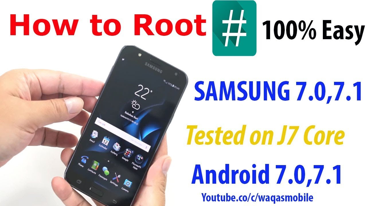 100% Root Samsung j7 Core SM-j701f 7 0,7 1 | j7 core j701f root file  download by Waqas Mobile