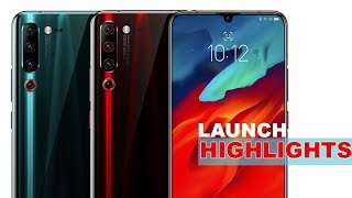 Lenovo Z6 Pro, K10 Note and A6 Note Launch Event Highlights