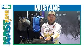 New Mustang Gear Bag & Storage Solutions with Elite Series Pro Mike McClelland | ICAST 2016