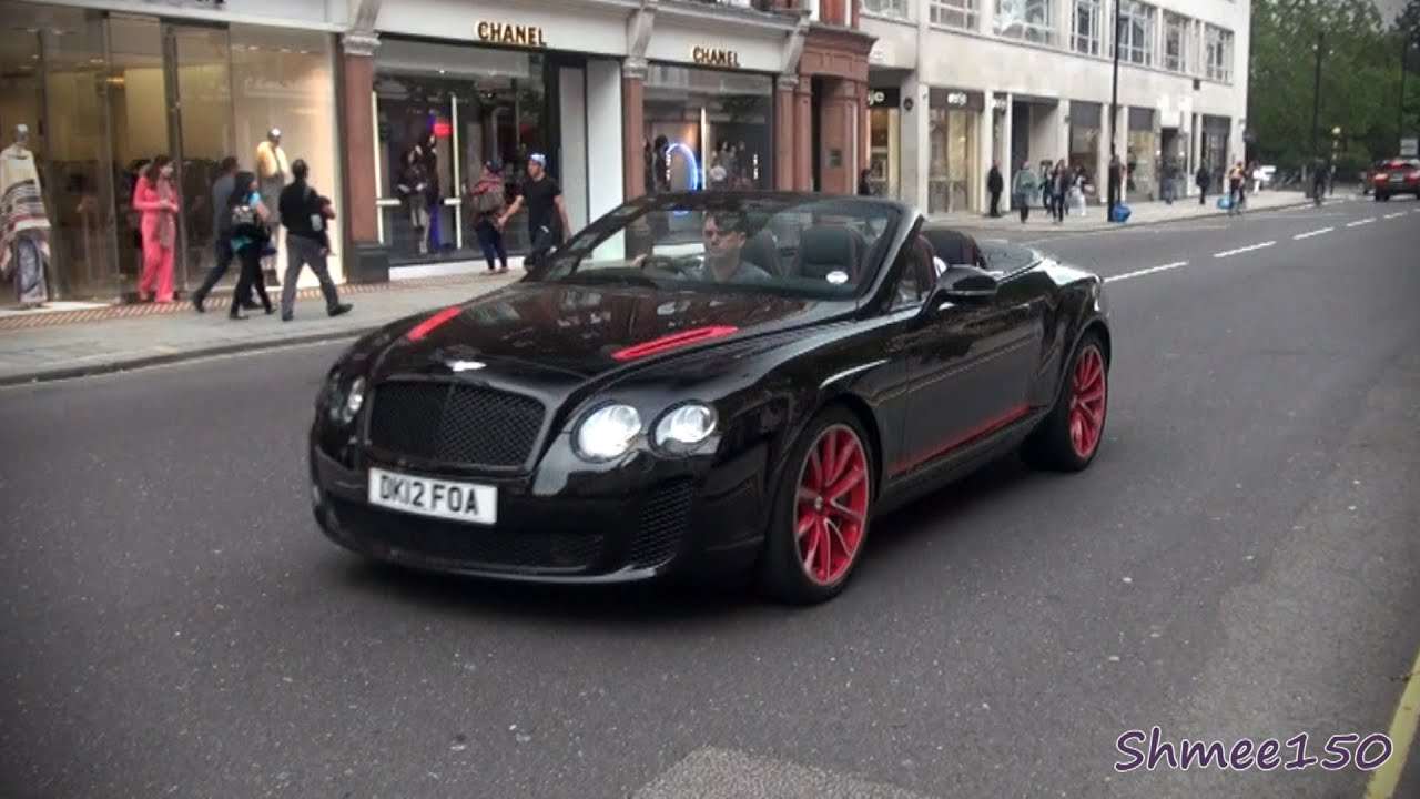 Bentley ISR Continental Supersports Convertible Ice Speed Record    One Of 100   YouTube