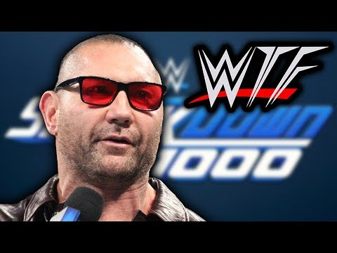 WWE SmackDown Live 1000 WTF Moments | We're Getting Triple H Vs. Batista, Aren't We?