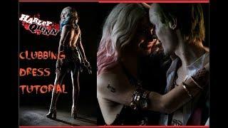 How I Made My Harley Quinn Club Dress//COSPLAY TUTORIAL