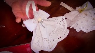 How to Make Peg Fairy Christmas Tree Decorations