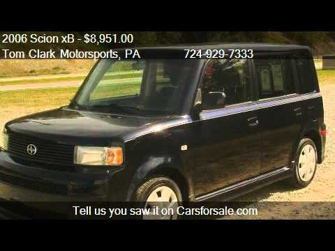 2006 scion xb wagon for sale in belle vernon pa 15012 On tom clark motor sports