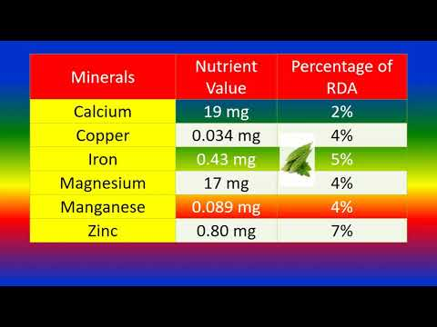 Bitter gourd melon nutrition facts