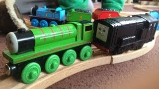 Thomas The Tank Engine - Diesel Shunting Engines - Large Wooden Toy Track