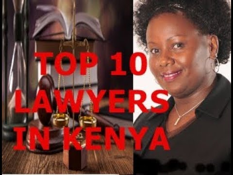 TOP 10 LAWYERS IN KENYA