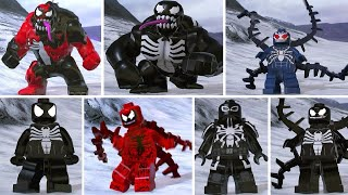 LEGO Marvel Super Heroes 2 - All Symbiote Characters