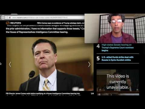 FBI, NSA, DoJ say NO Evidence of Trump's Wiretap Claims - News MAR 2017