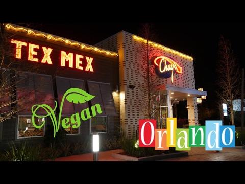 Vegan In Orlando! Chuy's Tex-Mex Restaurant VLOG