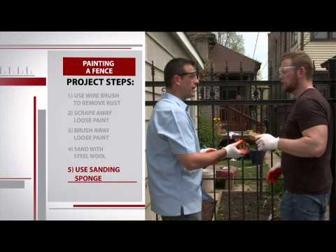 How to Paint a Wrought Iron Fence with Sean Buino