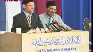 Speech of Abdullah Wagishauser Sahib (german/urdu) part 3/6