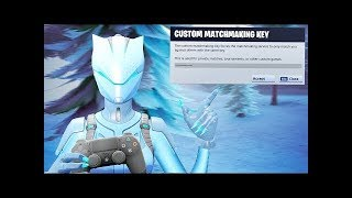 Fortnite Custom Matchmaking Scrims With SUBS! Solo,Duo,Squad  (FORTNITE BATTLE ROYALE)