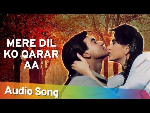 Mere Dil Ko Qarar Aa  Jigar 1992  Udit Narayan  Sadhana Sargam  Hindi Romantic Song