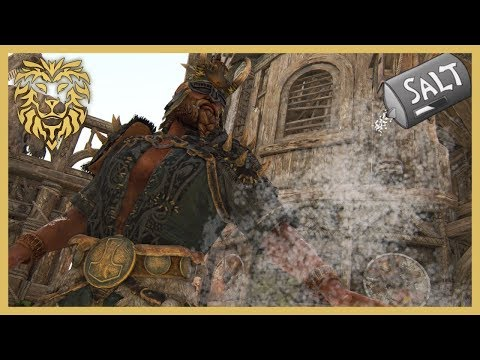 For Honor Literally Spreading Salt with Berserker NEW EMOTE