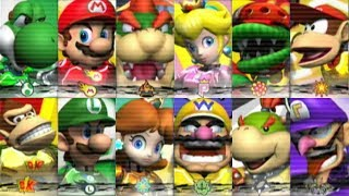 Mario Strikers Charged - All Characters
