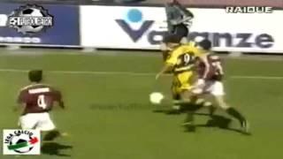 Serie A 1999-2000, day 29 Torino - Parma 2-2 (Sommese, Crespo, M.Amoroso, Silenzi)
