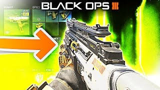 STILL THE BEST SMG IN BLACK OPS 3!