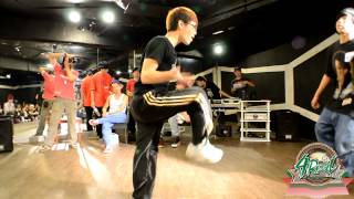 高中組16進8 大麥 vs 小虎 4real無限舞風尬舞大賽vol 2