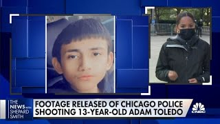 Download Chicago officials release footage of police shooting of 13-year-old Adam Toledo