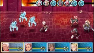Crimson Gem Saga - Multi-hit critical attacks