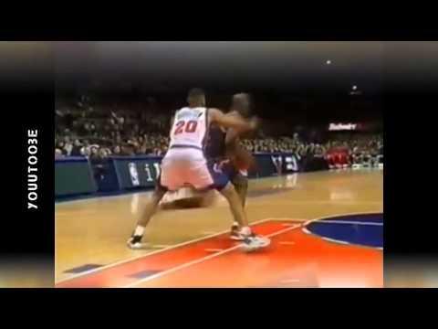 Michael Jordan Kills Allan Houston and Chris Mills 1998