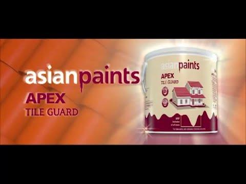Asian Paints Apex Tile Guard 2013 YouTube