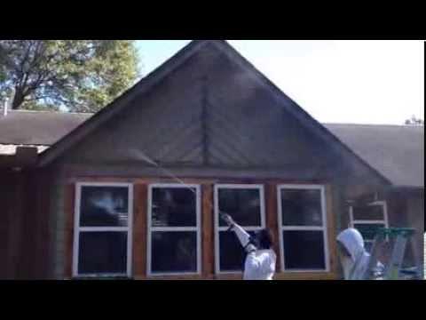 Power Washing Cedar Siding Youtube