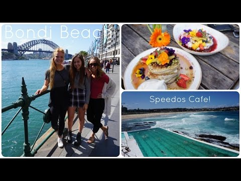 Exploring Sydney with Shae and Ally {Bondi Beach, Speedos Cafe, Newtown}