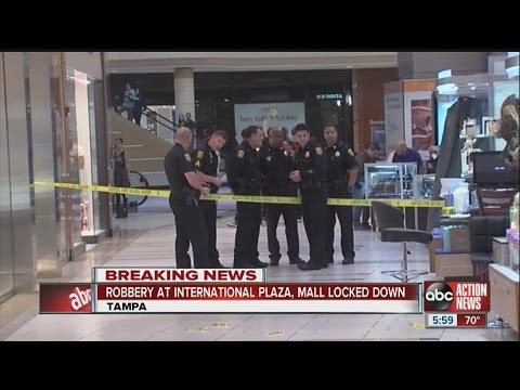 International Plaza reopens after robbery