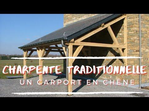 An oak carport #4