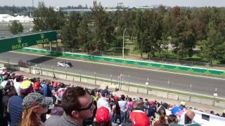 F1 2016 Mexico - Desfile pilotos parte 1