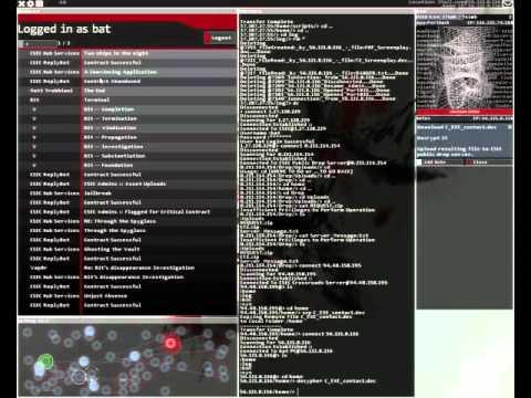 Hacknet - Decrypt a Secure Transmission - PC Gameplay