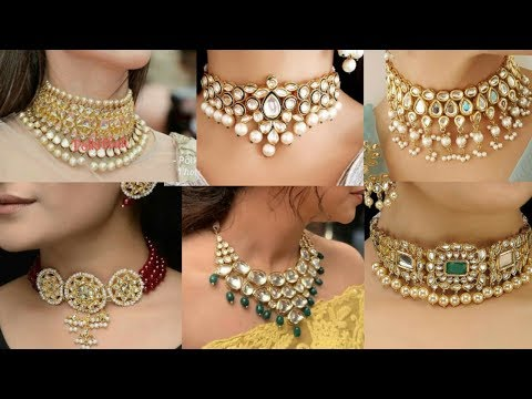 choker-necklace-designs-|-party-wear-choker-necklace-designs-2020