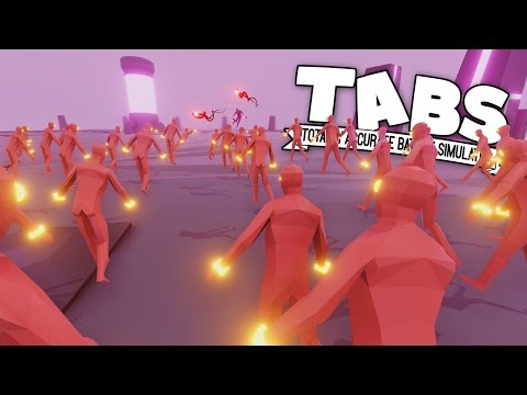 TABS - Super Peasant Army Vs. Dark Peasant! - Totally Accurate Battle Simulator New Update Gameplay