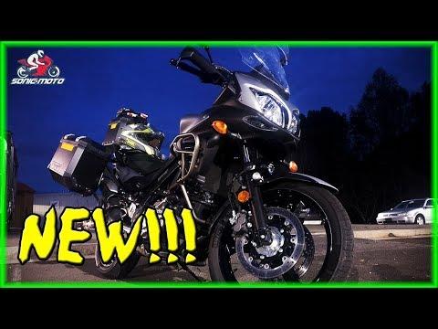 My New 2015 V-Strom 650 ABS Touring Bike - Sonic Moto